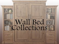 Solid Wood Wall Beds – Murphy Bed Manufacturer California | Stuart David Furniture