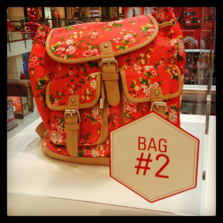 BAG TWO: Perfect for every wee gal! Find this gorgeous bag at Colette #WestfieldStLukes