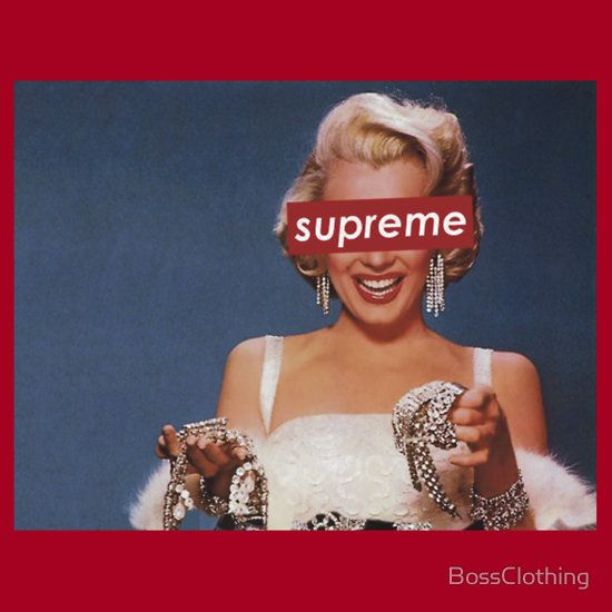 Supreme Marilyn Monroe by BossClothing Style Pinterest