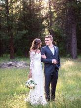 Olvi's Lace Collection Wedding Dress
