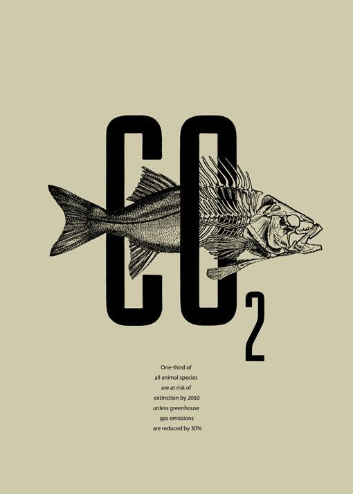 #graphic #design #poster CO2 Poster