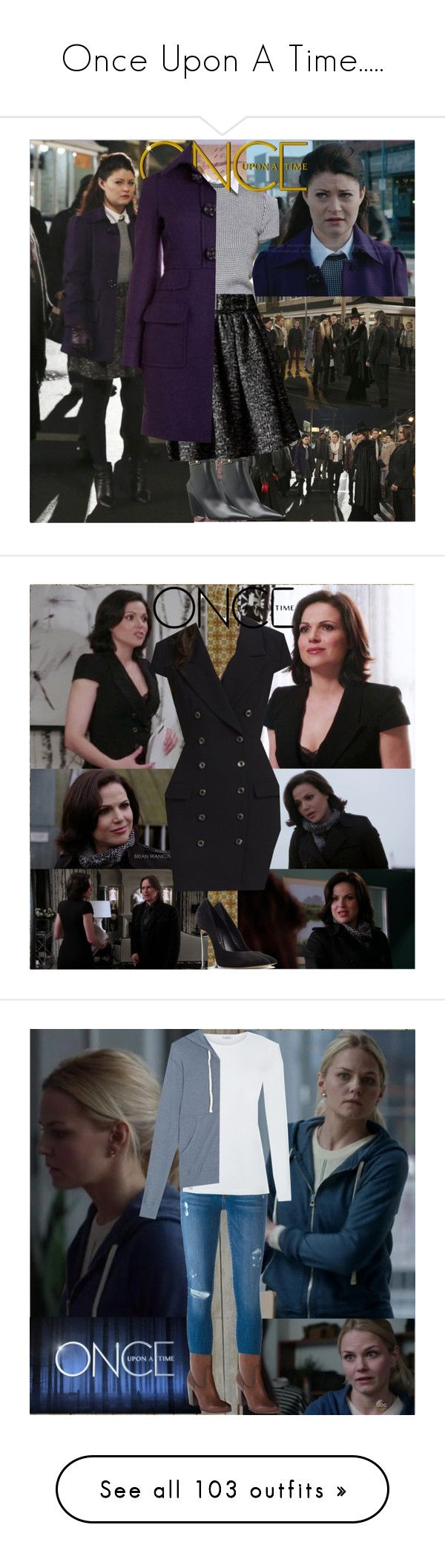 """""""Once Upon A Time....."""" by tvshowobsessed ❤ liked on Polyvore featuring Once Upon a Time, BasicGrey, Casadei, Piet Hein Eek, Frame, Frye, Gianvito Rossi, Wrap, maurices and Agnona"""