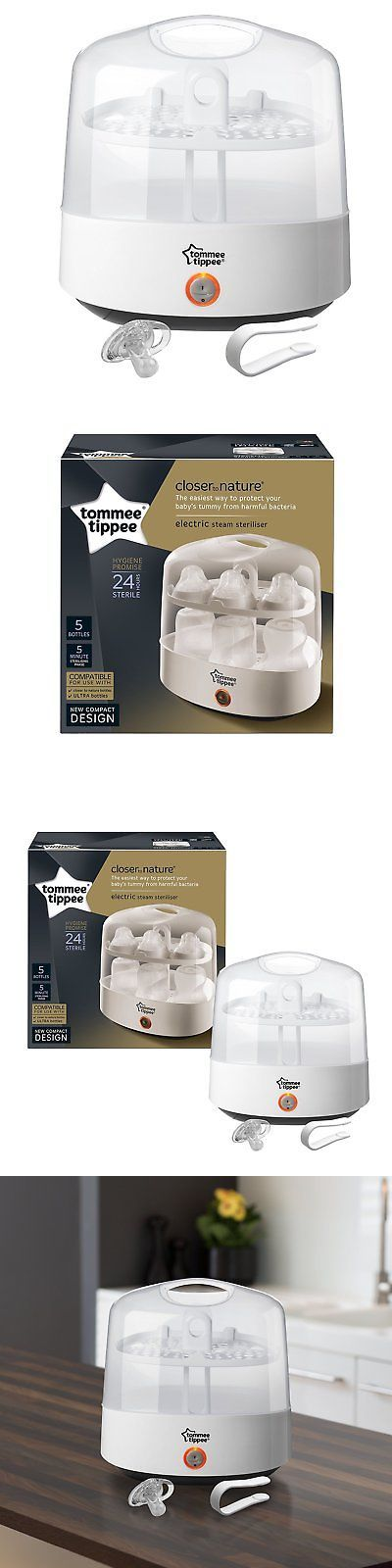 Bottle Sterilizers 106789: Tommee Tippee Baby Bottle Electric Steam Steriliser Chemical And Bpa Free, White -> BUY IT NOW ONLY: $39.38 on eBay!