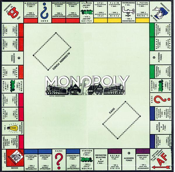 Wij noemden het 'monopolie'