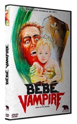 Sortie DVD/ Critique de Bébé Vampire de John Hayes (1972) disponible dès demain 4 avril via Artus Films et sa collection Horreur US