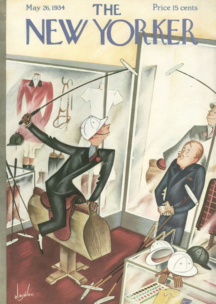 The New Yorker - Saturday, May 26, 1934 - Cover by Constantin Alajálov
