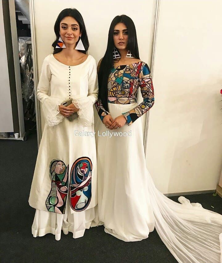 noor khan or sara khan indian designer outfits