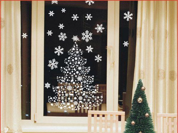 Декорируем окна к Новому году :: Фото красивых интерьеров
