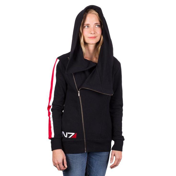 The BioWare Store - Ladies N7 Armour Stripe ANGL Hoody - Women's - Apparel
