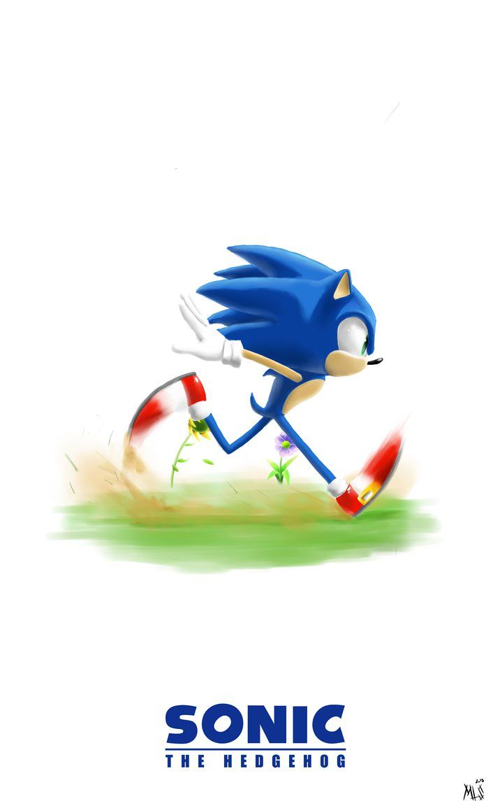 Sonic The Hedgehog by Lineshark on deviantART