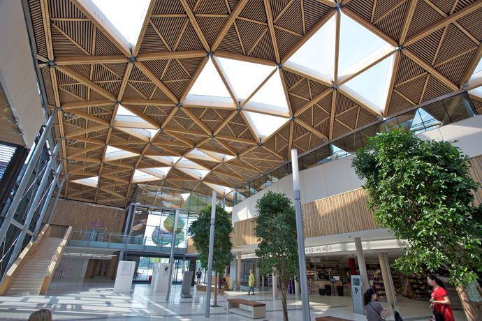 The Forum At University Of Exeter By Wilkinson Eyre Architects Devon Uk Exeter Devon