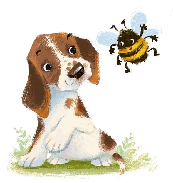 Bee Friends by Anna Chernyshova