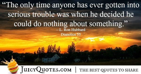 Scientology Quote 29