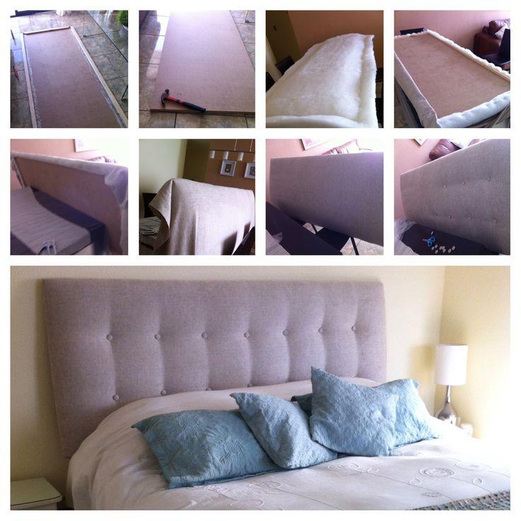 respaldo cabecera habitacin ideas decoracin dormitorio cama hazlo tu mismo cabeceras de telacosas para