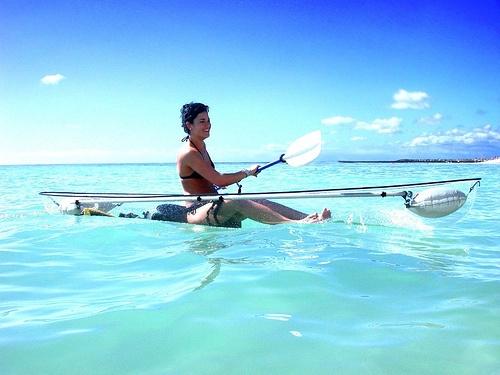 see through kayak!