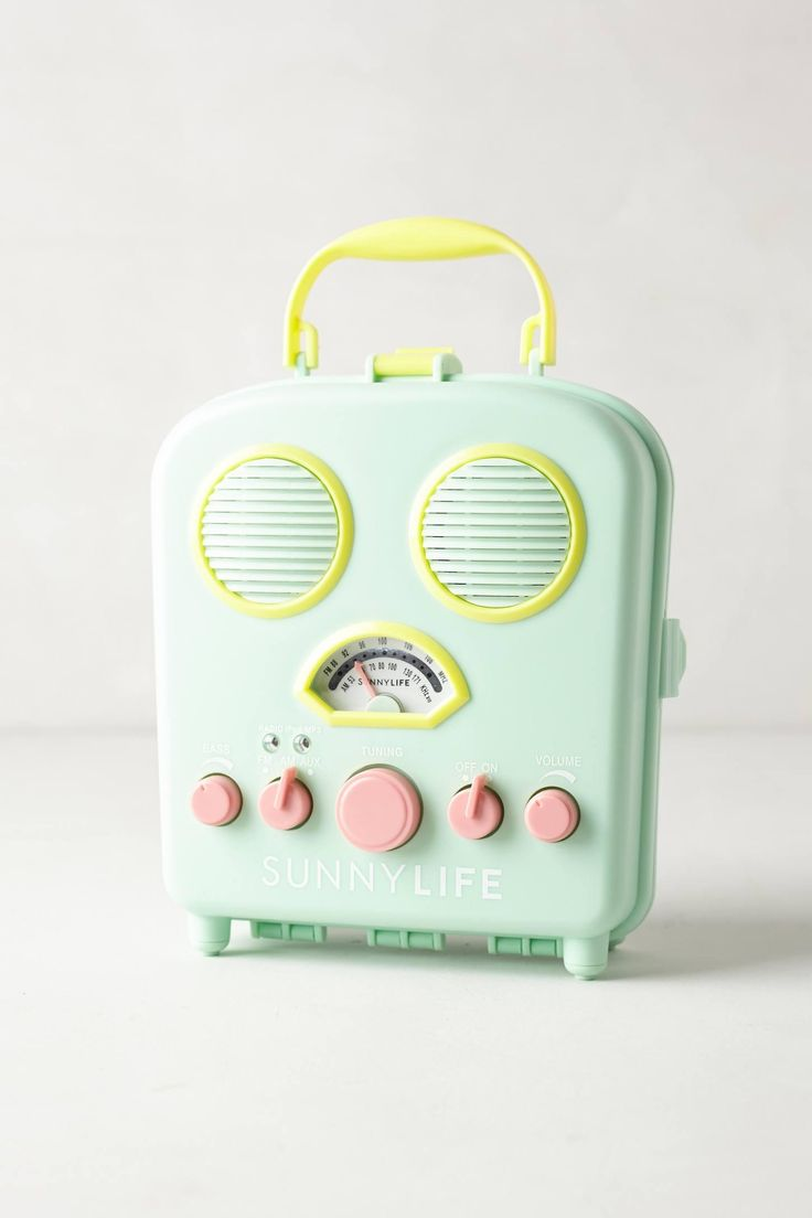 Anthropologie  Sunny Life Beach Radio