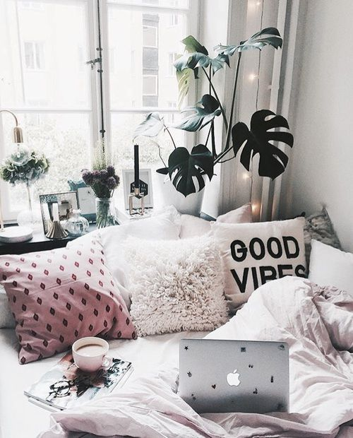 Adding a Touch of Cozy To Your Home // brokeandchic.com
