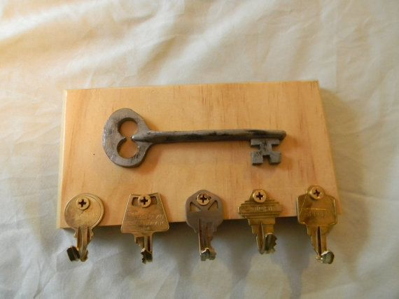 17 Best Ideas About Wooden Key Holder On Pinterest Key