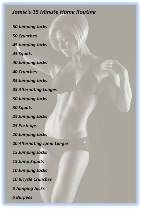 Jamie Eason workout you can do at home :)