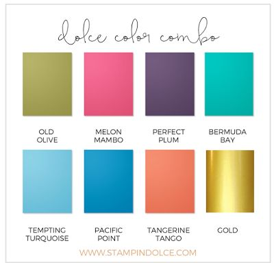 Color Combo 184 best stampin' up! color combinations images on pinterest
