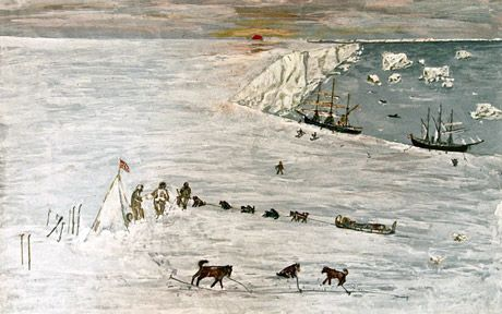 An archive of material that belonged to a member of Captain Scott's doomed   expedition to the South Pole including a journal, pictures and photographs   is to be sold at auction.