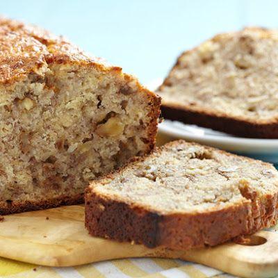 Bethenny's Boo Boo Banana Bread @keyingredient #chocolate #bread