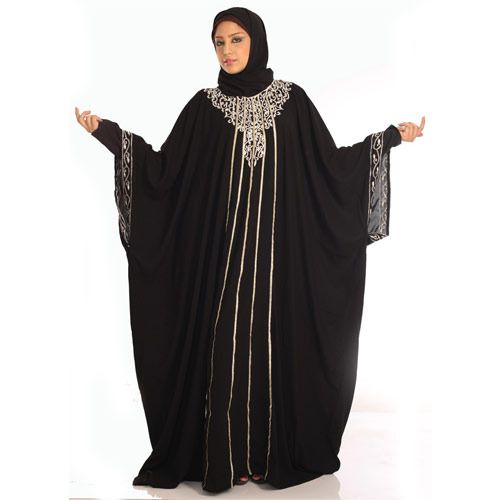 stylish black abaya (9)