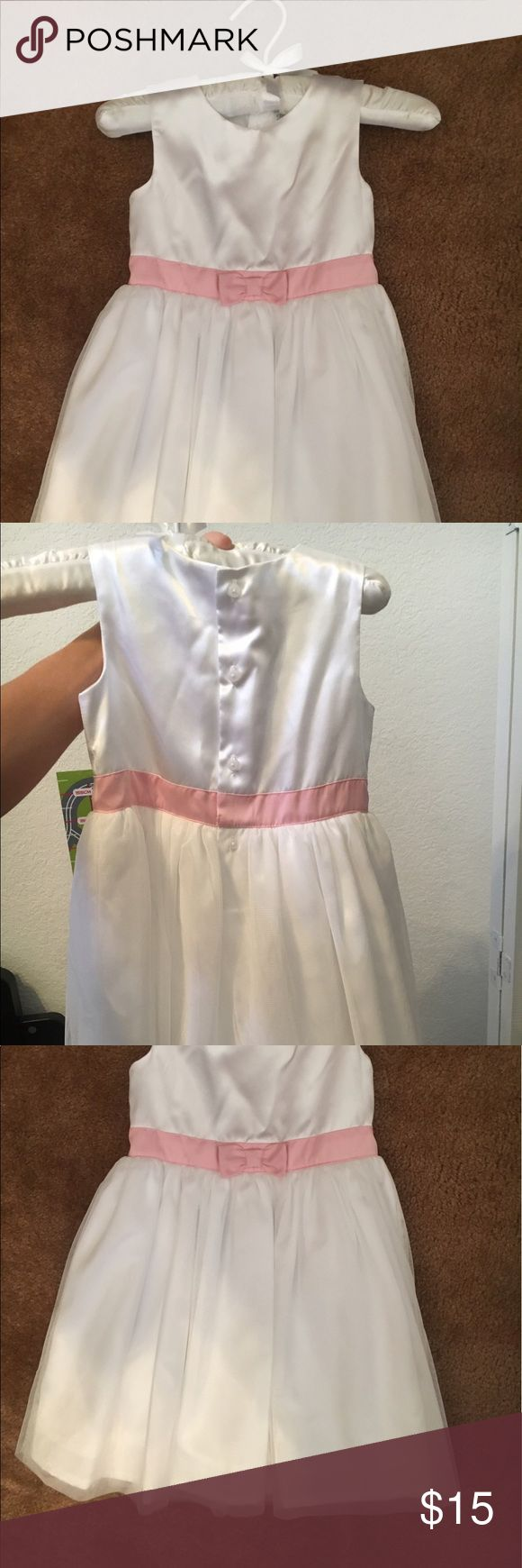 Carters formal dress Toddlers white child of mine carters dress. Never worn so cute! child of mine Dresses Formal