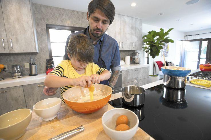Peek inside chef Ludo Lefebvre's kid-friendly kitchen - LA Times
