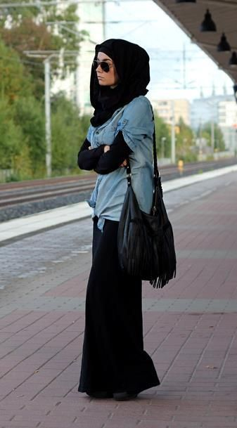 Makes hijab and modesty look a lot more appealing.