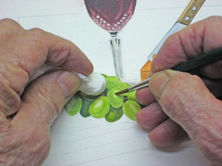 How to paint a still life in watercolour step by step for Video tutorial on watercolor painting