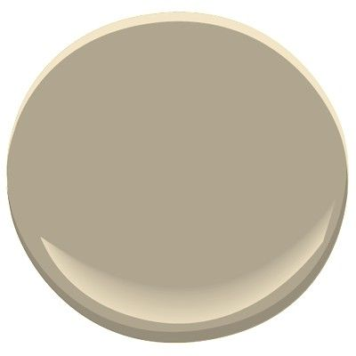 Benjamin Moore -  brandon beige 977  A timeless mid-tone that's serious but never stuffy, this grounding shade of taupe creates a good balance between color combinations.