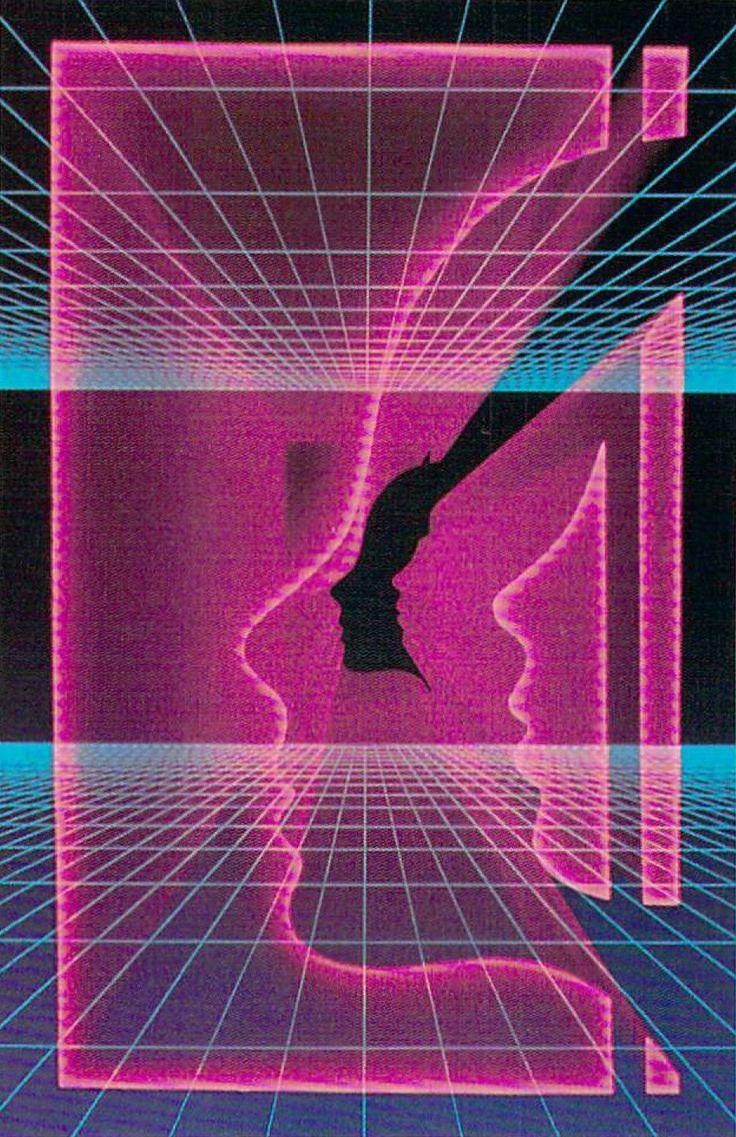 80s Neon Grid Aesthetic