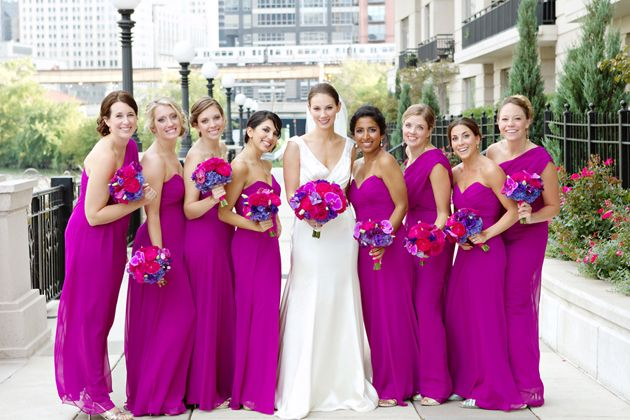 Brides: A Colorful Chicago Wedding Inspired by Hindu and Western Tradition