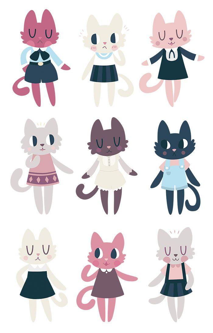 fashionable kitties!