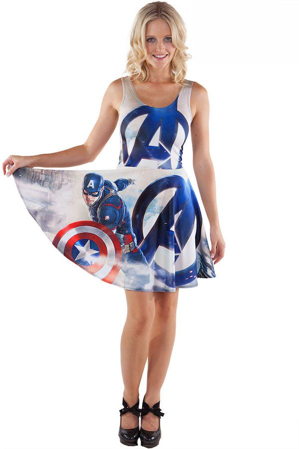 Assemble Your Closet With The Age Of Ultron Collection From Living Dead Clothing