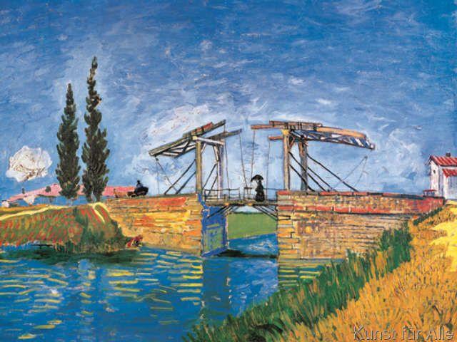 Vincent van Gogh - Il Ponte di Langlois