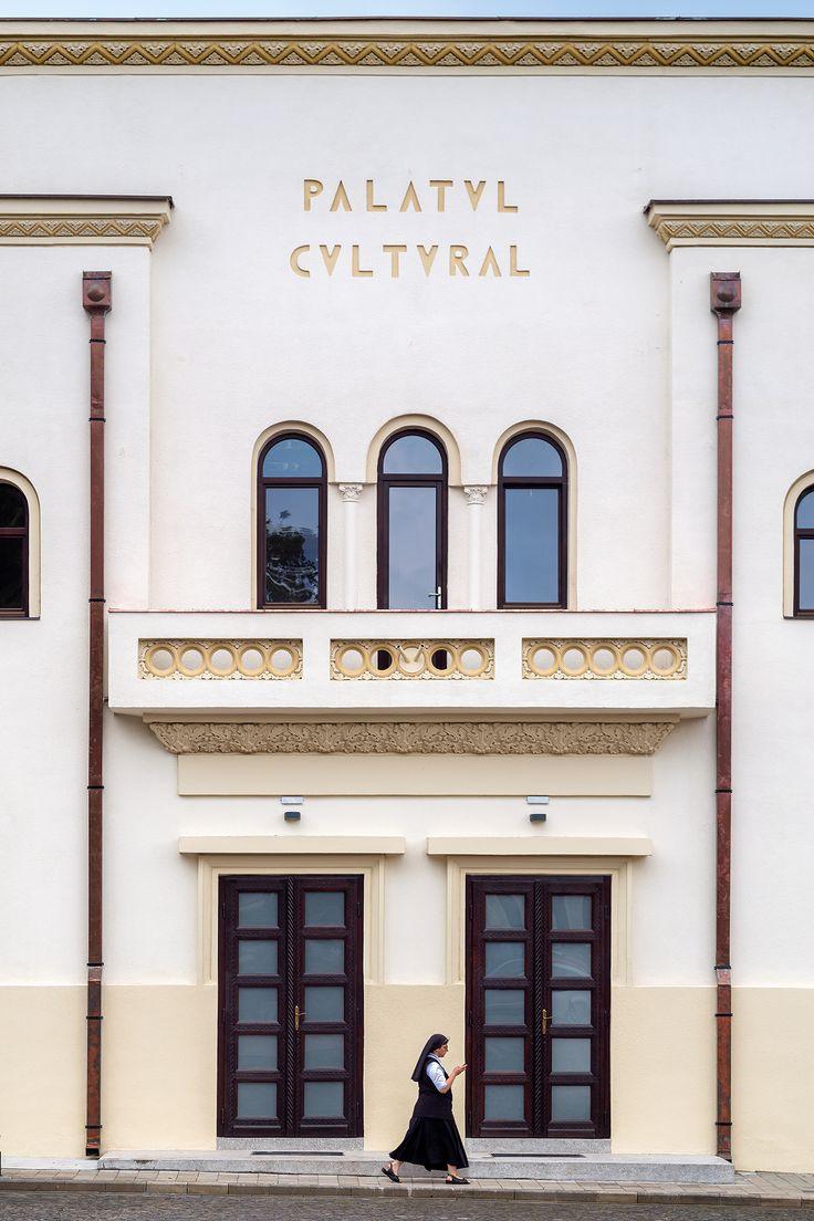 Palatul Cultural (1930), Blaj, arhitect Victor Smigelschi