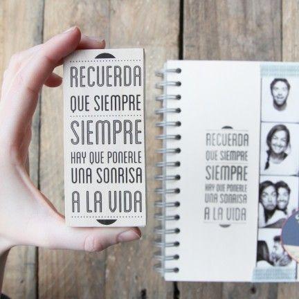 """Sello """"Recuerda que siempre hay que ponerle una sonrisa a la vida"""". A la venta en: www.mrwonderfulshop.es"""
