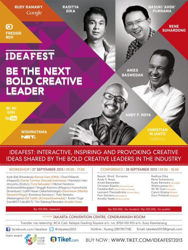 #IdeaFest2013 via @IdeaFest2013