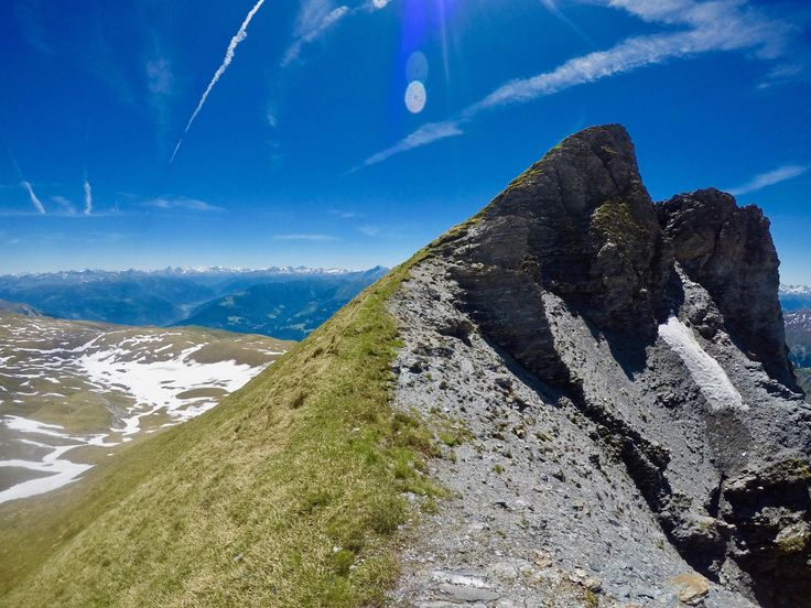 Spot the Alpine Ibex - Fil de Cassons - Flims Switzerland #hiking #camping #outdoors #nature #travel #backpacking #adventure #marmot #outdoor #mountains #photography