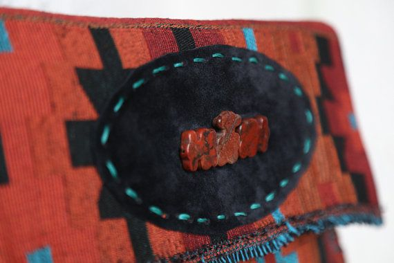 Τσάντα Large Clutch από υφαντό από την Ταϊλάνδη που συνδυάζει το  bohemian με το ethnic στυλ.  Ethnic Clutch Bag #Boho Handwoven Clutch #Tribal Large Clutch Bag #Thai Clutch Bag #Oversized Clutch #Aztec Bag