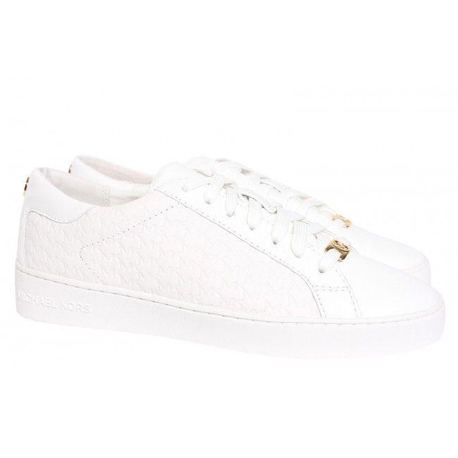 Blanc Michael Michael Chaussures Pour Femmes Kors pea1AZhYdB
