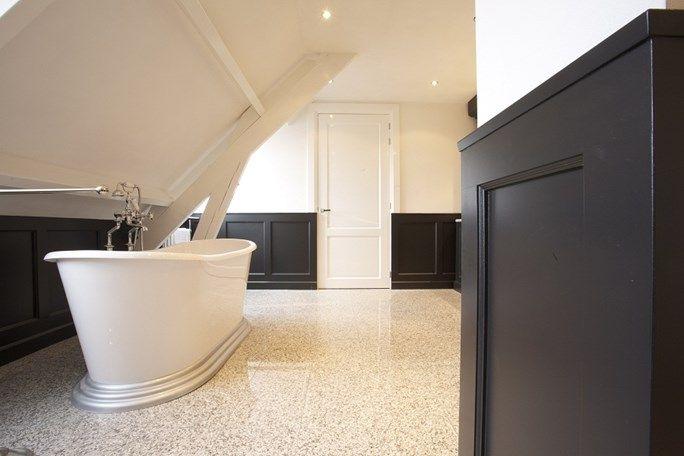 56 beste afbeeldingen van badkamer - Zwarte hoek bad ...