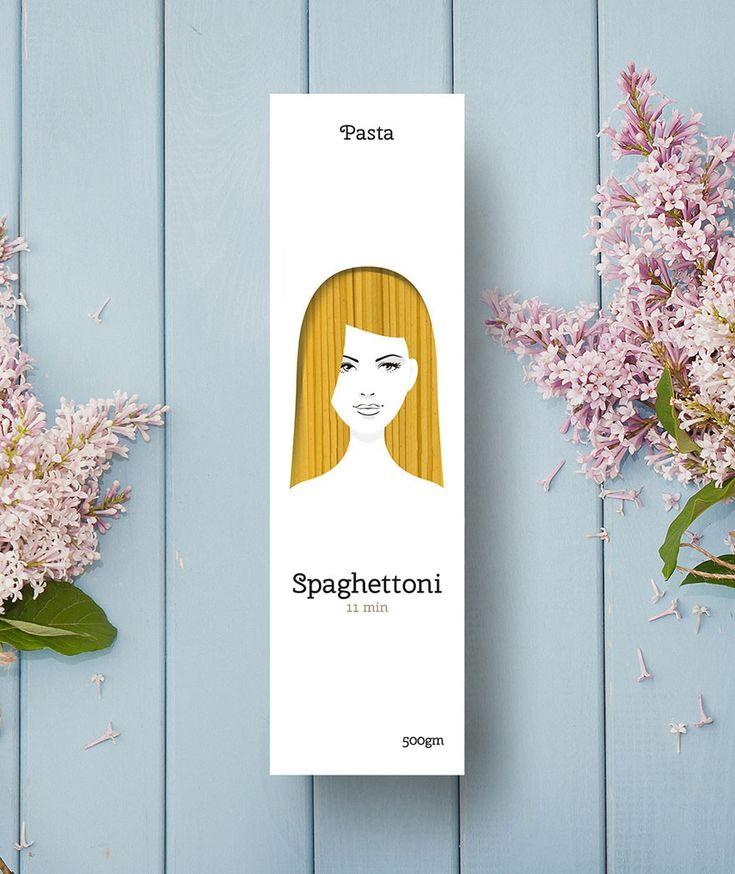 Креативный дизайн упаковки для макарон