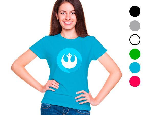Fan de star wars? Camiseta personalizada de algodón.