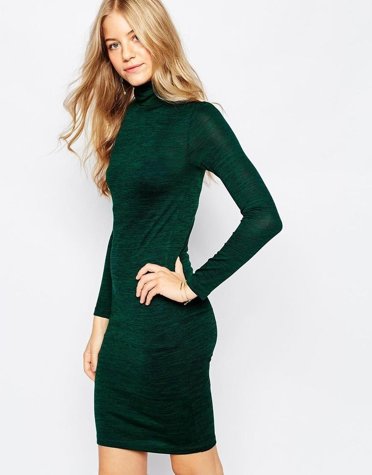 Vero Moda | Трикотажное облегающее платье-водолазка VeroModa на ASOS