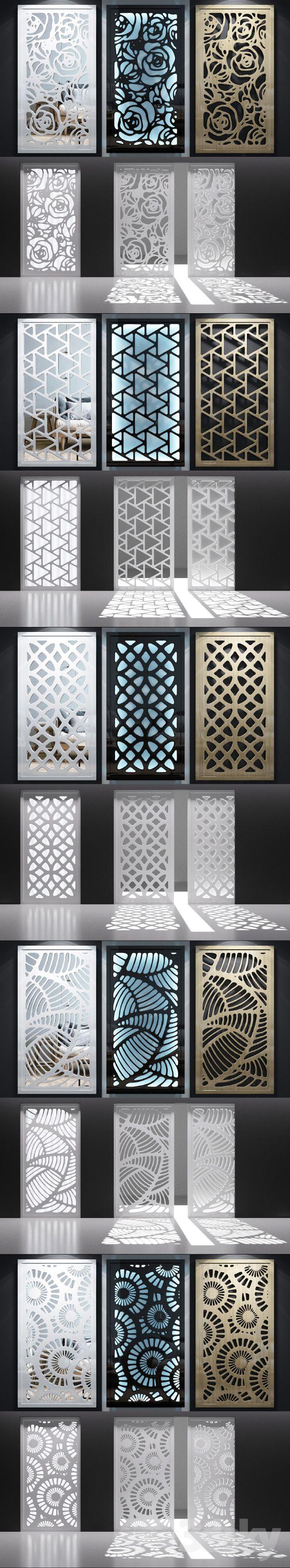 3d models: Other decorative objects - Set of decorative panels_06