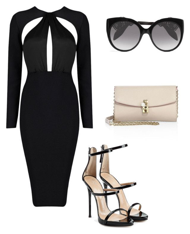 """""""Untitled #5"""" by sofia-pedu on Polyvore featuring Alexander McQueen, Giuseppe Zanotti and Dolce&Gabbana"""