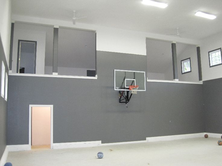 17 best images about basketball court designs on pinterest for Basketball garage